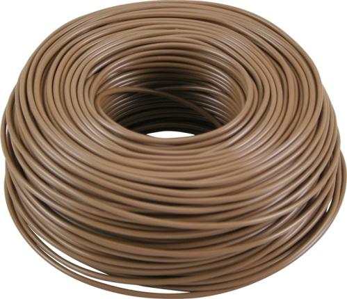 kabel fk 1 5mm2 brun 100m f rp. Black Bedroom Furniture Sets. Home Design Ideas